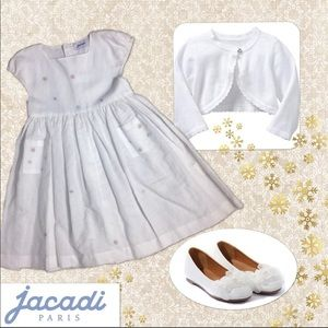 Jacadi Other - NWOT White Dress
