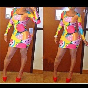 Nothing But Fruit Dress