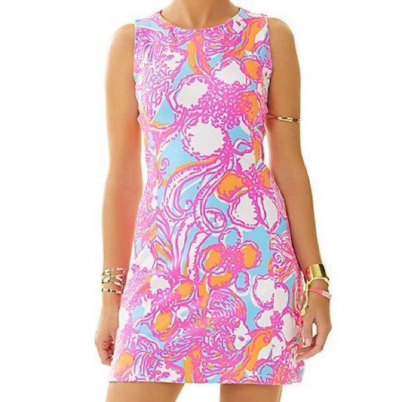 8e593f7707fa06 Lilly Pulitzer Dresses & Skirts - Lilly Pulitzer Whiting Cut-Out Shift Dress