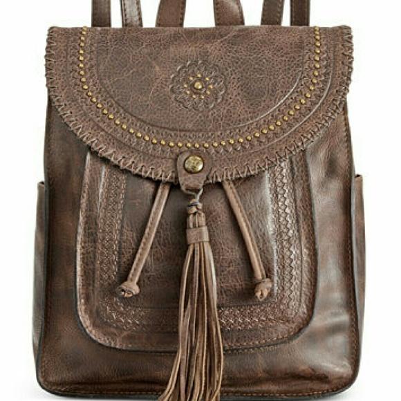 9c6aedeb4160 Patricia Nash Distressed Vintage Jovanna Backpack.  M 57d9ee745c12f8ee5600028b