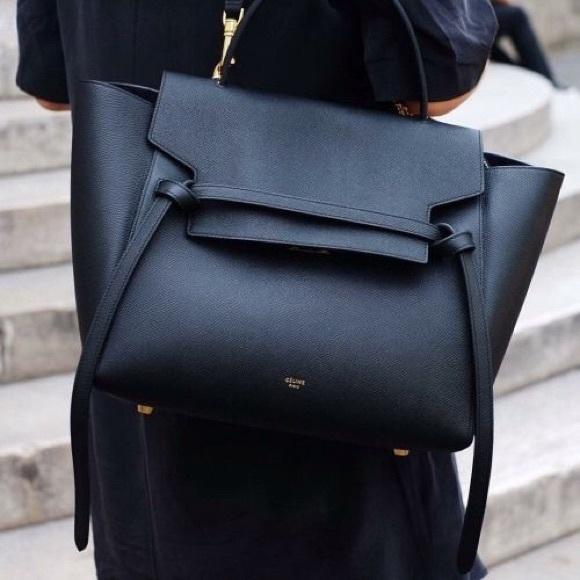 Celine Handbags - Celine Mini Belt Bag in Black 53f3ee842f3ff