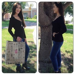 Boutique Tops - Long Sleeve Tunic