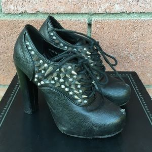 Deena & Ozzy Shoes - Deena & Ozzy Studded Heels