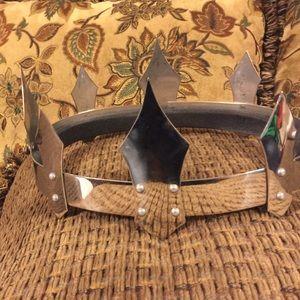 Mens Stainless Steel custom crown