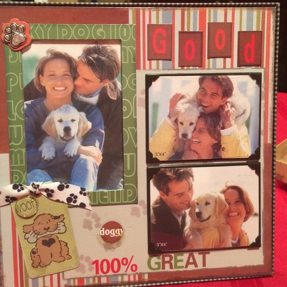 Other Dog Lovers Handmade Doggy Frame Poshmark