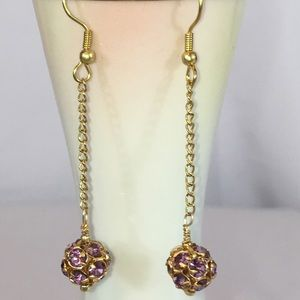 ps-creations Jewelry - Amethyst Fireballs in Gold