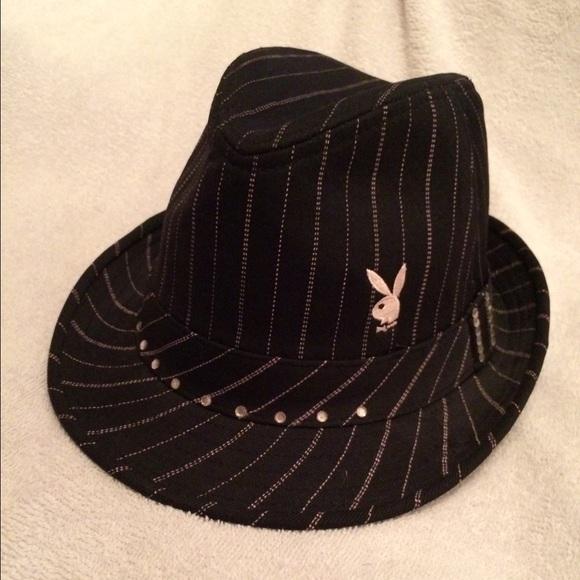 Playboy brand Fedora hat cad985fe155