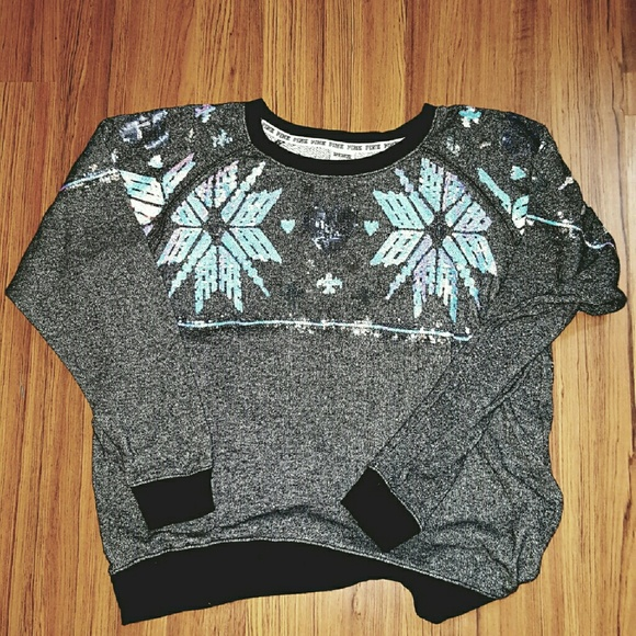 49% off Victoria's Secret Sweaters - PINK.. Holiday Sweater!! from ...