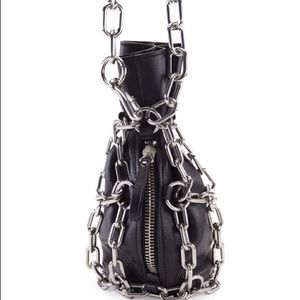 Alexander Wang Bags - Alexander Wang Attica Chain Caged Shoulder Bag