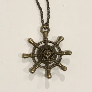 Jewelry - Gold/Bronze Nautical Necklace