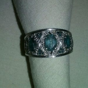Jewelry - Silver/Sapphire Ring