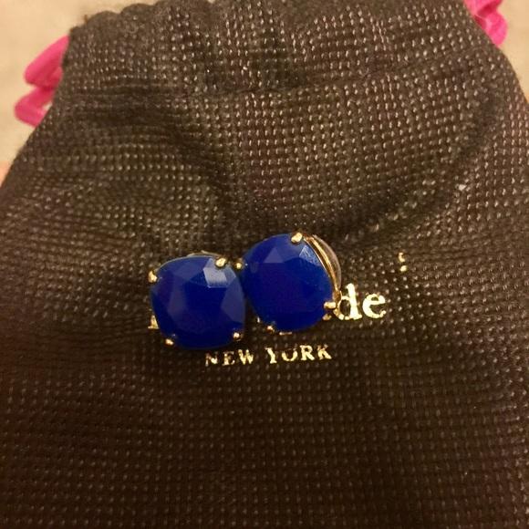e27e92a92840c Kate Spade royal blue stud earrings