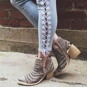 LF Pants - LF lace up jeans