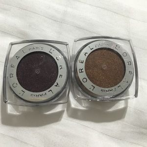 L'Oreal Other - L'Oreal infallible eye shadows⭐️great fall colors!
