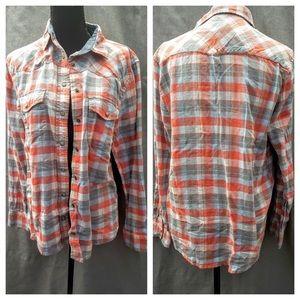 "Jachs Tops - Jachs NY Girlfriend flannel shirt ""Bea"""