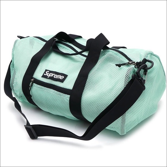 Supreme Handbags - Supreme Lightweight Mesh Duffle Bag