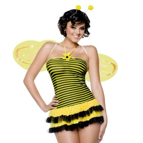 midnight stinger bumblebee bee halloween costume s - Bee Halloween