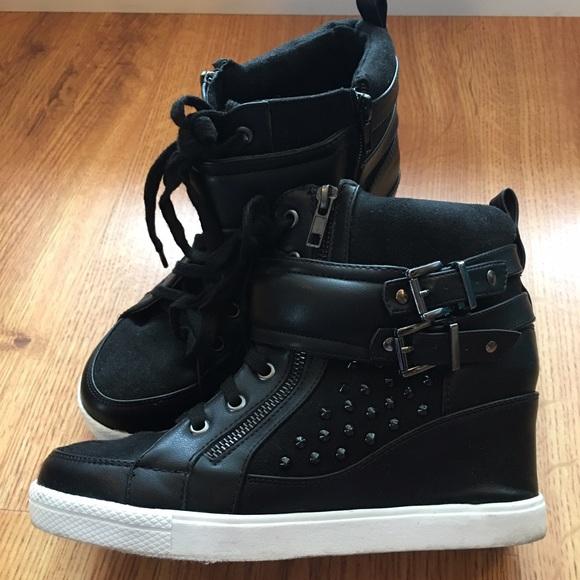 a53fba87be3 Torrid Wedge Sneakers. M 57da20804e8d17e689008af6