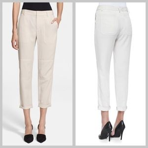 Vince Pants - NWT Vince Twill Cargo Pants in Chalk