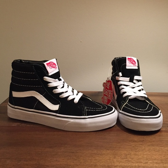 0959aa97848 Women s Vans SK8-Hi Slim black white