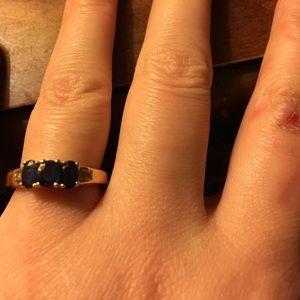 Safire ring
