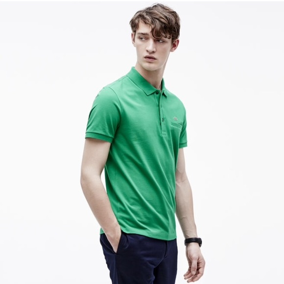 599f4d4e Lacoste Regular Fit Polo - Chlorophyll Green