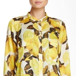 RVCA Tops - RVCA Lemon long sleeve shirt