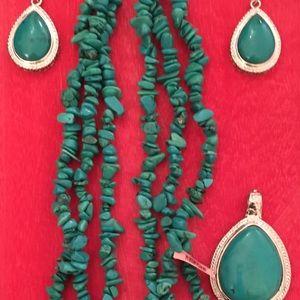 Amrita Singh Jewelry - Amrita Singh necklace & earring set