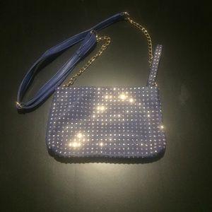 Vegan Leather Blue Studded Melie Bianco bag