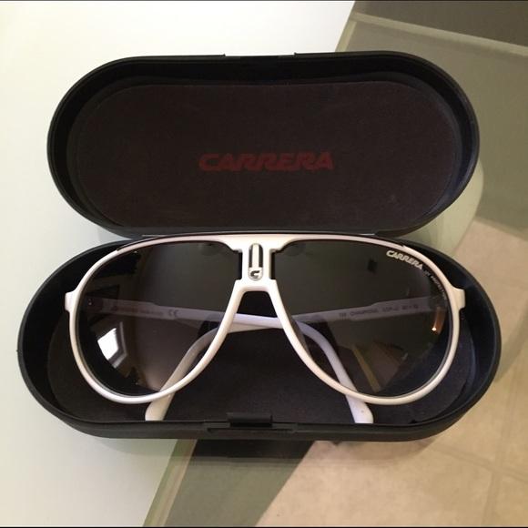 757ef8913c Carrera Accessories - Carrera Champion White Sunglasses