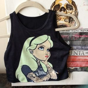 Alice crop top
