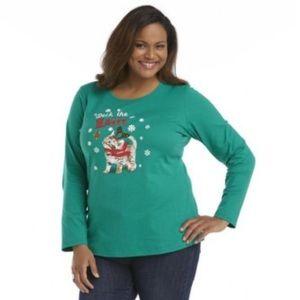 🐱 Long Sleeve Holiday Cat T-Shirt 🐱