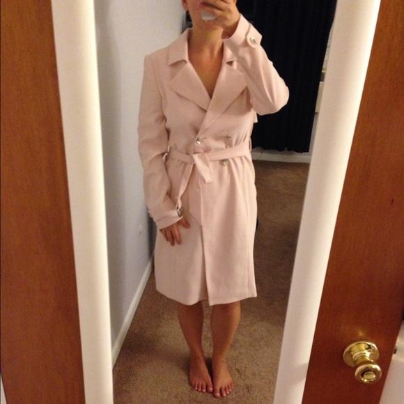 85% off White House Black Market Jackets & Blazers - Light pink ...
