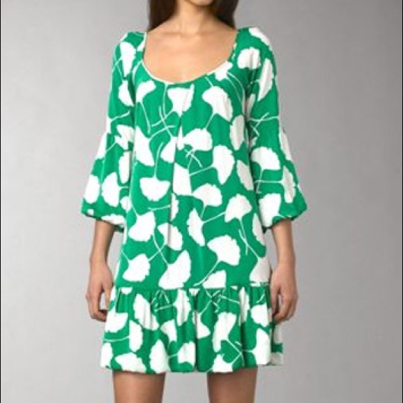 Discount Prices Diane von Furstenberg Adelaide Silk Dress Factory Price Cheap Sale Browse Clearance Best Store To Get Clearance Cost 8JE3OsK