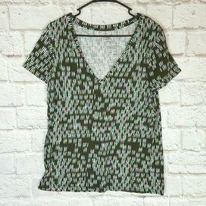 Fun Merona Geometric Tee T-Shirt size xL