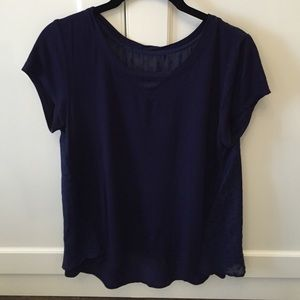 Market and Spruce tshirt with flowing back