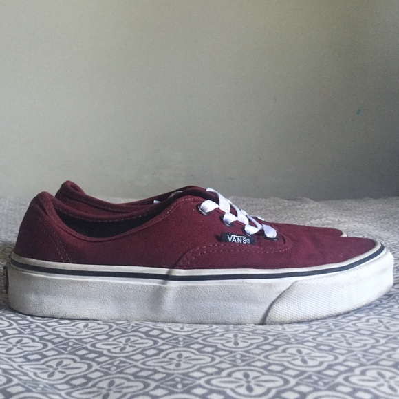 48475ea229 Vans Shoes - Vans Classic Maroon Lace-up