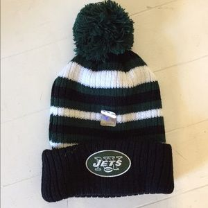 NFL Accessories - NFL official JETS HAT BEANIE MILLER LITE aa3ba56a6