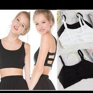 Tops - BRAND NEW Padded Bra Crop Top