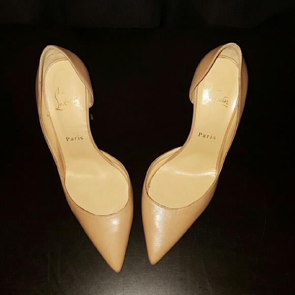 129ff33020 Christian Louboutin Shoes | Iriza Patent Open Side Pump | Poshmark