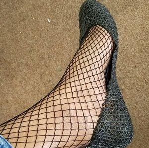 Shoes - Black Jellies Flat