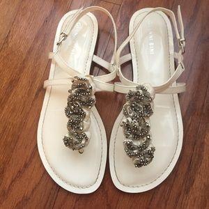 Gianni Bini Shoes - Gianni Bini Beaded Sandals