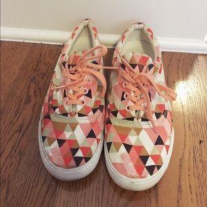 BucketFeet Geo Lace Up Sneaker