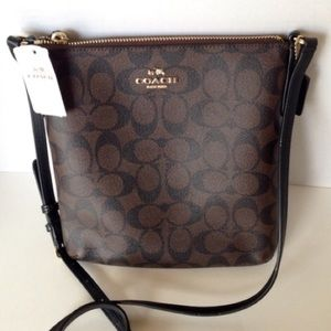 NWT Coach Signature Crossbody Handbag