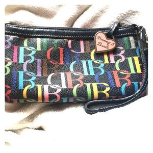 Dooney and Bourke Colorful Clutch