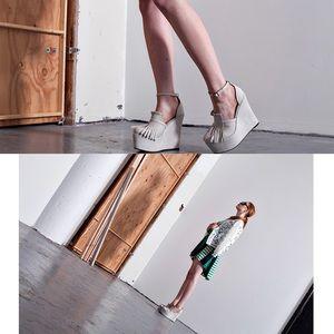 YES Shoes - YES Meika Bone Wedges
