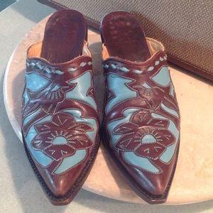 Old Gringo Shoes - VINTAGE OLD GRINGO MULES