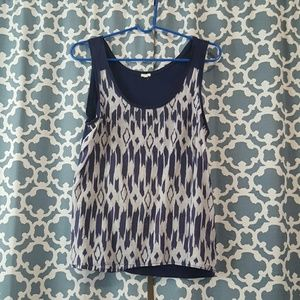 J. Crew 100% cotton sleeveless top