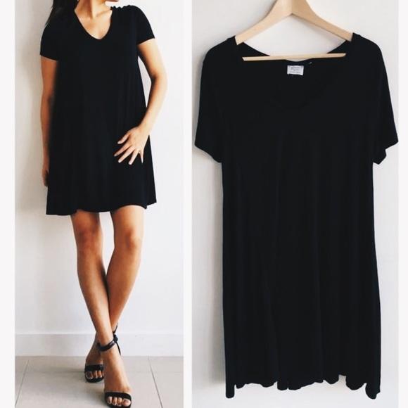 60 off zara dresses skirts zara babydoll t shirt for Zara black t shirt dress