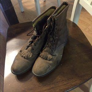 Laredo Shoes - Laredo lace up boots
